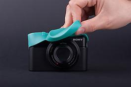 創意的數碼相機保護套jpg素材