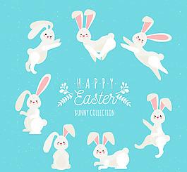 復活節卡通兔子系列
