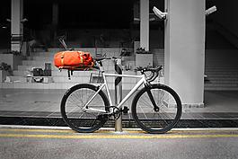 創意單車自行車的產品jpg素材