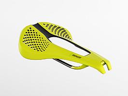 舒適耐久性黃色的自行車鞍座jpg