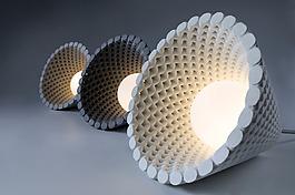 混凝土创意螺旋形灯泡jpg素材