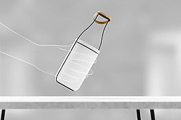 創意個性瓶子造型燈具jpg