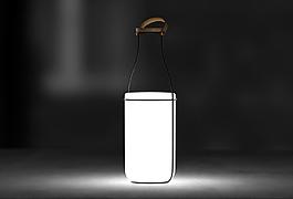 一款创意个性的白色吊灯jpg
