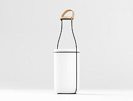 白色创意外形的吊灯jpg