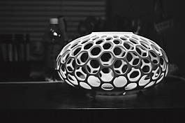 3D渲染创意灯具设计jpg素材