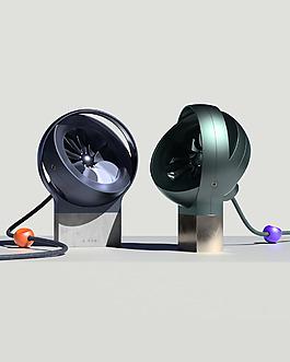 創意個性的小巧辦公電器風扇