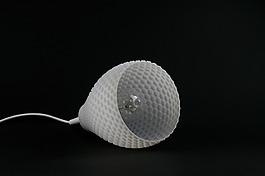 白色个性的灯具灯罩jpg素材