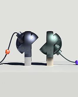 創意個性的造型臺扇jpg素材