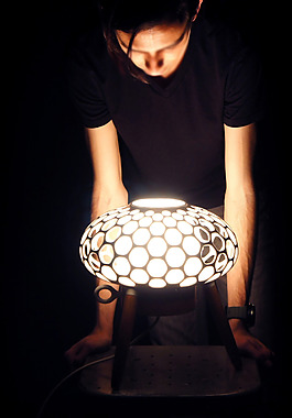 创意个性的模型灯具产品jpg