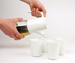 創意個性的小巧茶具jpg