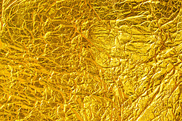 華麗金色褶皺紋理貼圖設計