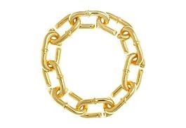 金色連環鎖鏈png