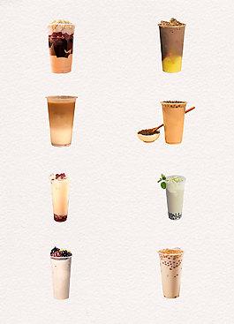 美味巧克力奶茶产品实物