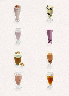 简约香芋奶茶产品实物