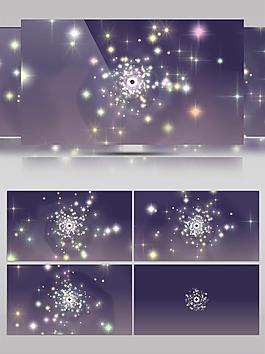 星空科幻星星动态视频素材
