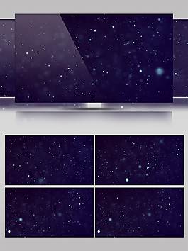 星空宇宙星球动态视频素材