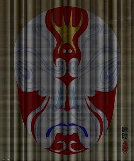 京劇臉譜鼠標墊
