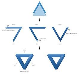 潘洛斯三角原理畫圖技巧