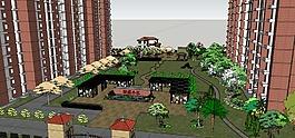 小区景观效果图设计