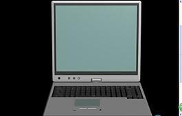 筆記本電腦模型