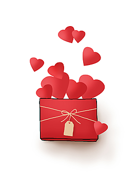 520手繪禮物盒元素