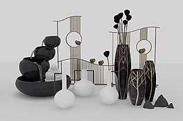 桌面裝飾現代花瓶