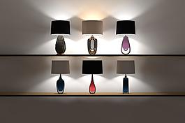 现代欧式多样式台灯