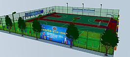 第四届皇马杯篮球联谊赛效果图