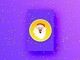圣誕老人素材
