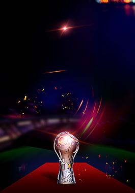 激戰世界杯足球PSD素材