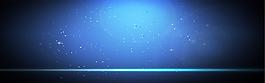 藍色星空淘寶海報背景