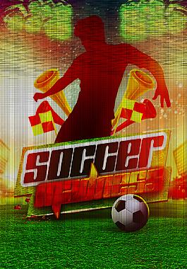 激情足球比賽H5頁面設計