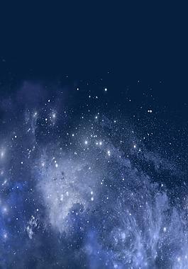 夢幻星空背景圖