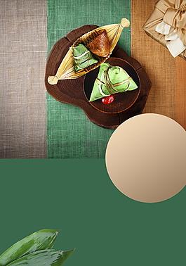 素布肉粽端午節背景素材