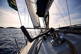 大海上快速行驶船只音效素材