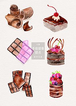 手繪巧克力美食