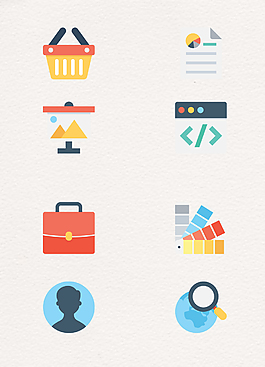 電子商務icon矢量小圖標