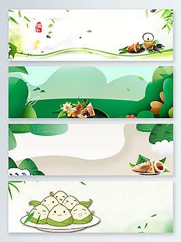 傳統端午節banner背景圖