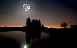 月光下小提琴演奏背景音效