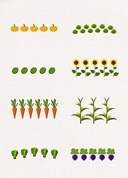 农业蔬菜植物设计