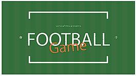 足球等競技體育的動感宣傳片AE工程