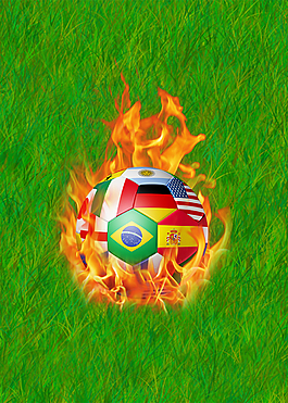 2018年世界杯足球德國隊海報背景psd