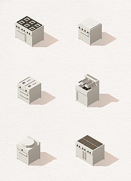 矢量房屋模型设计下载