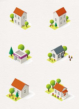 3D立体房屋建筑