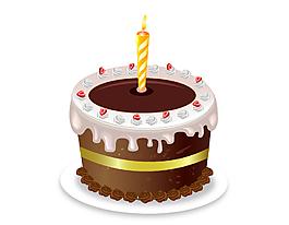 卡通巧克力蛋糕