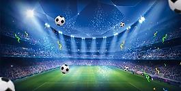 藍色星光世界杯背景