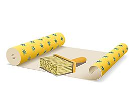 矢量刷子紙張元素