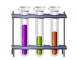 手繪化學實驗元素