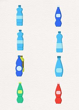 简约瓶子饮料设计
