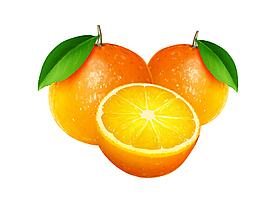 橙子矢量素材